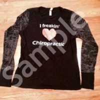 I Freakin Love Chiropractic Women's Long Sleeve T-Shirt