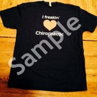 I Freaking Love Chiropractic Mens Short Sleeve T-Shirt
