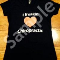 I Freakin Love Chiropractic Women's Short Sleeve T-shirt
